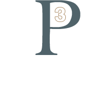 P3 Construction & Remodeling Logo